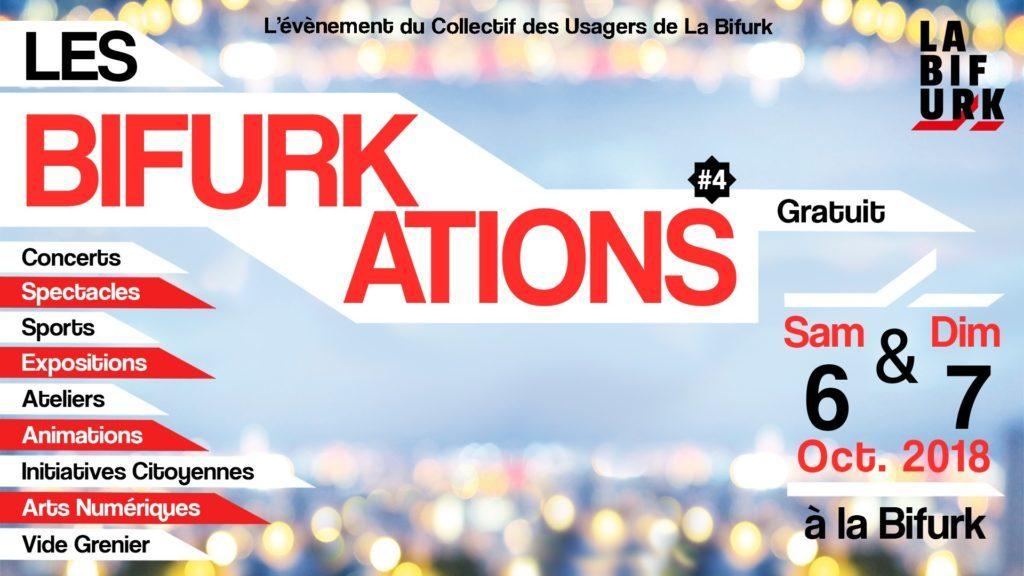 4ème édition des Bifurkations @ La Bifurk