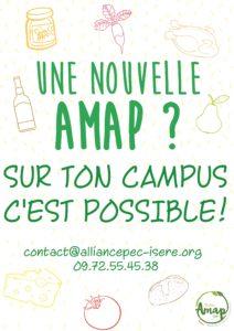 Une Amap sur ton campus ? @ Campus St Martin d'Hères